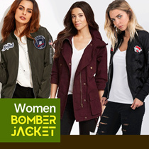 NEW COLLECTION - ERDS Jaket Bomber Slim Wanita Kicksoogar - Jaket Bomber Slim X Urband - Best Seller
