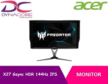 Acer X27 Gsync HDR 144Hz IPS monitor
