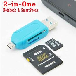 Universal Micro USB SD Card Reader Micro USB OTG adapter