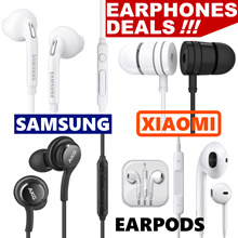 Samsung IPhone Earpod Xiaomi Piston Earphone Redmi 1/2/3/4 Note Earpiece Galaxy S4 S7 S8 Edge Mic