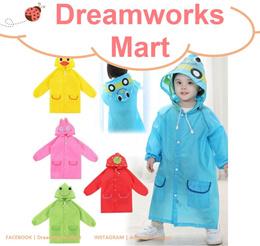 Linda Linda Cute Raincoat / Waterproof Coat for Children [5 Different Colors | Design]