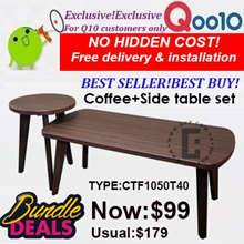 Singapore furniture Sales!Cheapest in the market!Coffee/side table!Free delivery and installation!