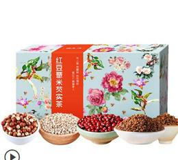 Rose tea red bean barley tea Gorgon moisture Qudu spleen buckwheat barley tea combined tea tea bag