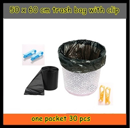 Small Trash Bagspurchase with clip holder Thick Garbage Bags for Kitchen Bathroom Offices