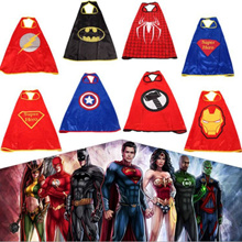 Super Hero Costume Cosplay Cloak Mask toys Party Gift Goodies Bag Boy Girl Halloween Armor