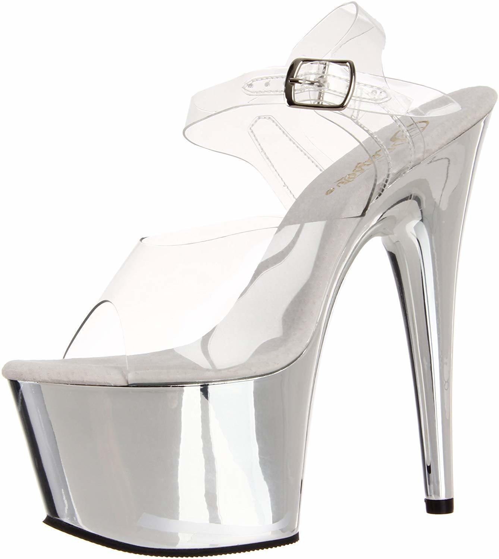 af38258bf Qoo10 - Pleaser Womens Adore-708/C/SCH Platform Sandal : Baby ...