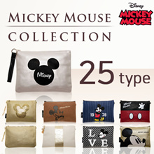 [Disney Authentic] Mickey Mouse 2 way bag / Disney Clutch bag / Crossbody bag
