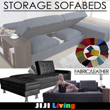 ◣CUSTOMIZATION◥ ★Storage ★ Sofabed ★Memory Foam ★OAK WOOD ★FOLDABLE ★Wood