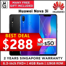 Huawei  Nova 3i  4GB | 128GB (Black/Purple) Local Warranty