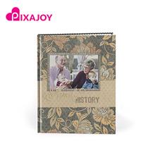 Pixajoy Imagewrap Hardcover 11˝ x 8˝ Portrait Photobook 40 Pages From Pixajoy