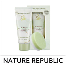 [NATUREREPUBLIC] Cotton In-Shower Hair Removal Cream 60g