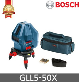 Bosch GLL 5-50X Professional 5-Line Laser Level Measure / GLL5-50 Improve Model