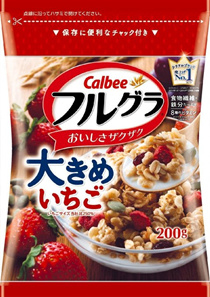 BEST SELLING ★ CALBEE GRANOLA (200g) ★ STRAWBERRY ★ MANGO ★ SWEET POTATO ★ MIXED BERRIES