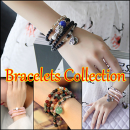 [NEW ARRIVAL]LIMITED QTY. Natural Agate stones bracelet Crystal Bracelet Many Designs Buddha Bless