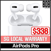 [Airpods Pro] [SG Local Warranty] AirPods Pro | Wireless Bluetooth Earphones | + Noise Cancelling