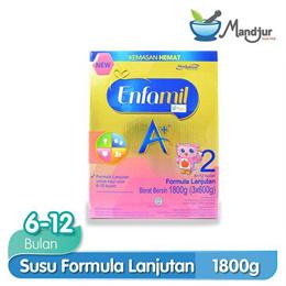 Enfamil A + Stage 2 1800 gr Plain Baby Formula Milk