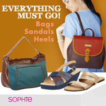 LADIES ACCESSORIES COLLECTION - FOOTWEARS - BAGS - WALLETS