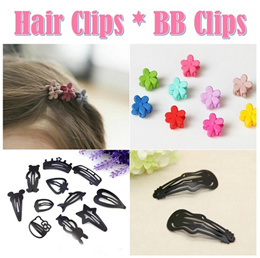 06 BB Clip Hair Clip Accessories Black Side Clip Children Infant Toddler Kids Girl Lady Baby Girl