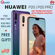 RM1,940 (P20) RM2,600 (P20 Pro) 📣📣 RM300 coupon discount 📣📣📣 Huawei Malaysia Warranty [Free Gift : PINENG TYPE C CABLE]