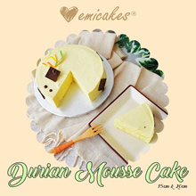 [Emicakes] New Durian Mousse Cake
