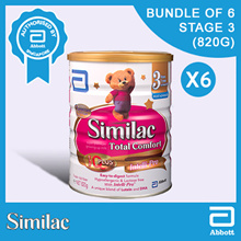 Similac Total Comfort Stage 3 - Milk Formula 820g Bundle of 6s