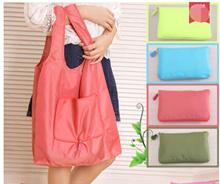 Life life fashion folding shopping bag portable large green bag Oxford cloth thickened bag to buy fo
