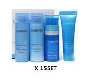 ★Wholesale★Laneige Waterbank Moisture Care trial kit 4 items X 15SET(Emulsion25ml+SkinRefiner25m