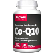 Jarrow Formulas Co-Q10 200 mg 60 Capsules