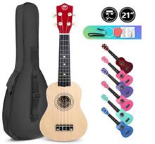 Ukulele SALES GSS PROMOTION 21 Inches Ukelele Guitar Instrument Capo Pick Wood
