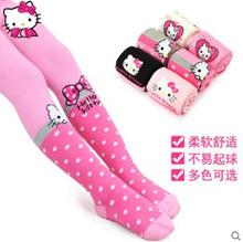 Embroidery Cotton Hello Kitty Female Socks Women