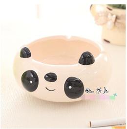 Large household personality creative ashtray ceramic fashion cute cartoon cat multi-function ashtray