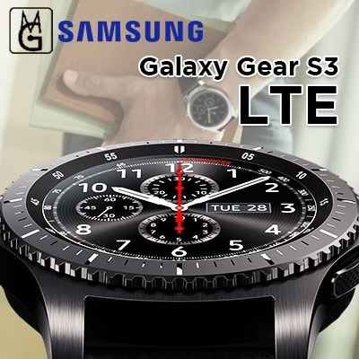 SAMSUNG AGENT SET GALAXY GEAR S3 FRONTIER I 1YR OFFICIAL SAMSUNG WARRANTY I  BT I LTE