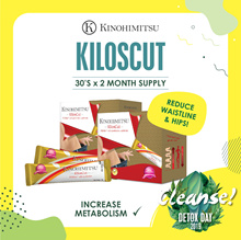 Kinohimitsu KilosCut 30sx2 [2mths Supply] * Curb Cravings * Enhance Fat Metabolism [Slimming]