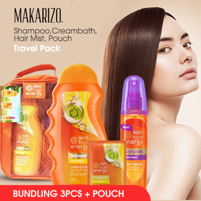Makarizo Kiwi Hair Shampoo 330 mL Deals for only Rp99.000 instead of Rp99.000
