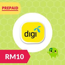 RM10 Digi Prepaid Reload Top Up RM30 RM50