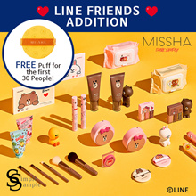 [MISSHA] 2018.11 NEW! Line Friends Edition !! Hurry! (++Free puff)