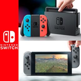 [닌텐도 스위치] Nintendo Switch 조이콘 본체 그레이 / 네온 블루 네온 레드 /일본정품
