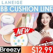 BREEZY★Added 2018 New Cushion [LANEIGE] BB Cushion Series / New Sun  /Pore Control/Whiteni
