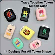 Trace Together Token Cover   SG Slang For All Token Shape   Perfect Fitting   Free Chain and Nametag