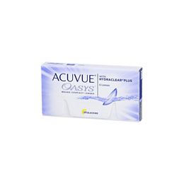 Johnson and Johnson Acuvue Oasys with Hydraclear Plus BC 8.80mm (6pcs/box) PWR -1.00 ~ -4.50