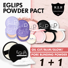 [1+1] Eglips Blur Powder Pact★Lavender Powder Pact★Oil Cut★Glow Pact★Pore Blind Powder★Matte Look