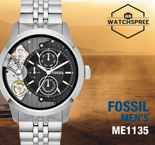 *FOSSIL GENUINE* Fossil Townsman Black Dial Mens Multifunction Watch ME1135. Free Shipping!