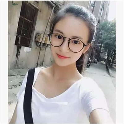 e76610e49f63 Korea TR90 ultra light retro round eyeglass frame myopia frames ladies  glasses girl with glasses t