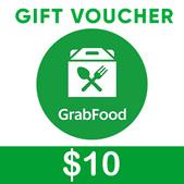 $10 GRAB FOOD VOUCHER | INSTANT REDEMPTION