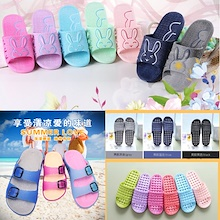 *FREE SHIPPING* 2017 Korean Design Non-slip Bathroom Slippers/Home Slippers/Office Slippers/Sandals