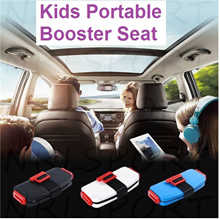 Foldable Car Safety Portable Baby Seat Booster Chair for Toddlers Infants 3-12Y