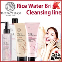 THE FACE SHOP★Rice Water Bright&Rice Bran Cleansing★New Item Added★Korea No.1 Cleanser★Herb Day