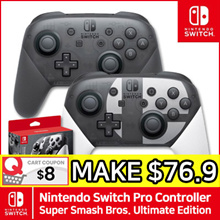 Nintendo Switch Pro Controller / Super Smash Bros. Ultimate Edition / Joycon