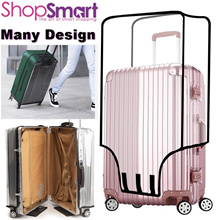 Transparent PVC Luggage Cover/Waterproof Case Protector/20 to 30 Inch/Local Delivery