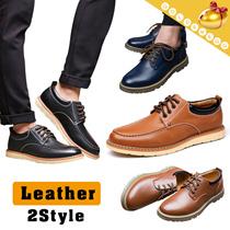 【予約 / 送料無料】本革メンズシューズ/ビジネスシューズ/通勤/革靴/幅広/滑り止め履き心地がよいメンズシューズ/男子靴-2 styles